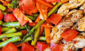 Balsamic Chicken And Vegetables – Low Calorie Recipes Dinner