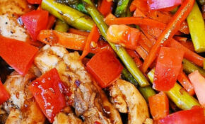 Balsamic Chicken And Vegetables – Low Cholesterol Recipes Chicken