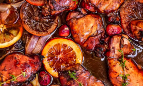 Balsamic Glazed Chicken Recipe – Sheet Pan Balsamic Chicken Thighs – Chicken Recipes Tasty