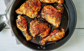 Balsamic Honey Skillet Chicken Legs Recipe — Eatwell15 – Chicken Recipes Legs And Thighs