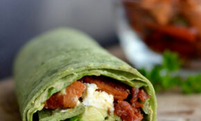 Balsamic Roasted Vegetable Wrap – Wrap Recipes Vegetarian