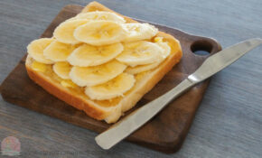 Banana and Honey Toast | Stay at Home Mum