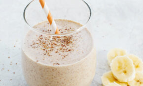 Banana Oat Breakfast Smoothie – Healthy Recipes Using Bananas