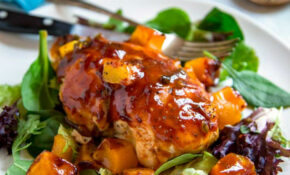 Barbecue Mango Chicken – Kevin Is Cooking – Mango Recipes Dinner