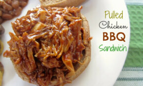 Barbecue Pulled Chicken Sandwiches Recipe — Dishmaps – Recipes Pulled Chicken