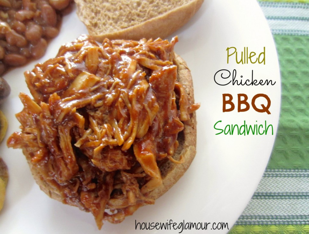 Barbecue Pulled Chicken Sandwiches Recipe — Dishmaps - recipes pulled chicken