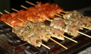 Barbecue, Skewer, Marinade, Chicken