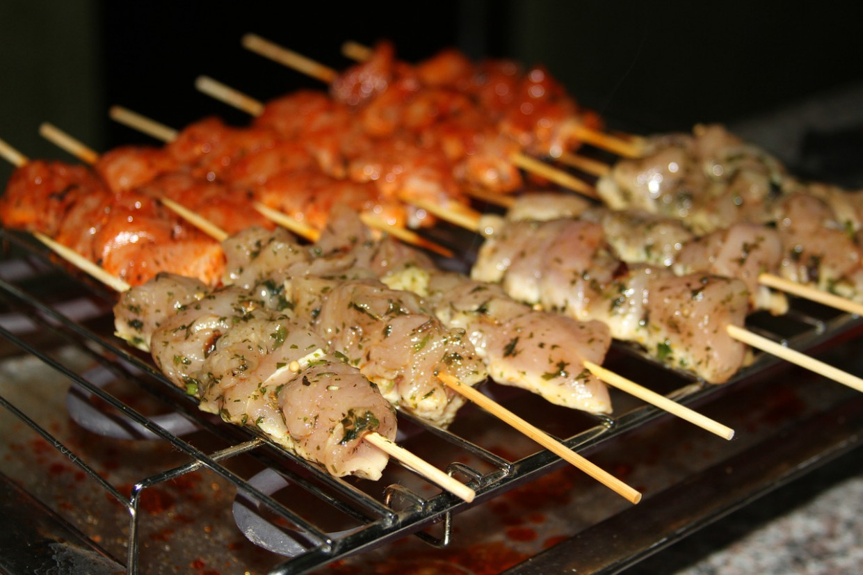 Barbecue, Skewer, Marinade, Chicken - bbq recipes chicken