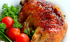 Barbecued Chicken Leg Quarters – Bunny's Warm Oven – Recipes Quarter Chicken