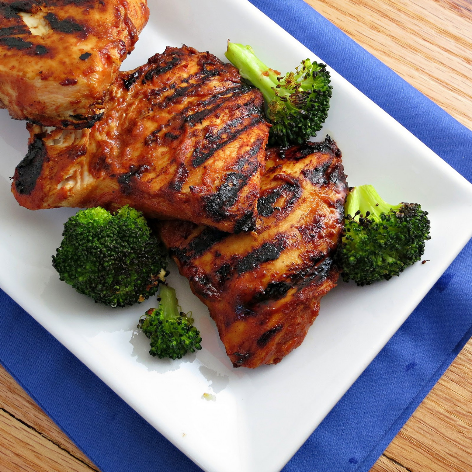 Barbecued Chicken On The Grill Recipe — Dishmaps - grill recipes chicken