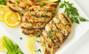 Barbecued Chicken On The Grill Recipe — Dishmaps – Recipes Grilled Chicken