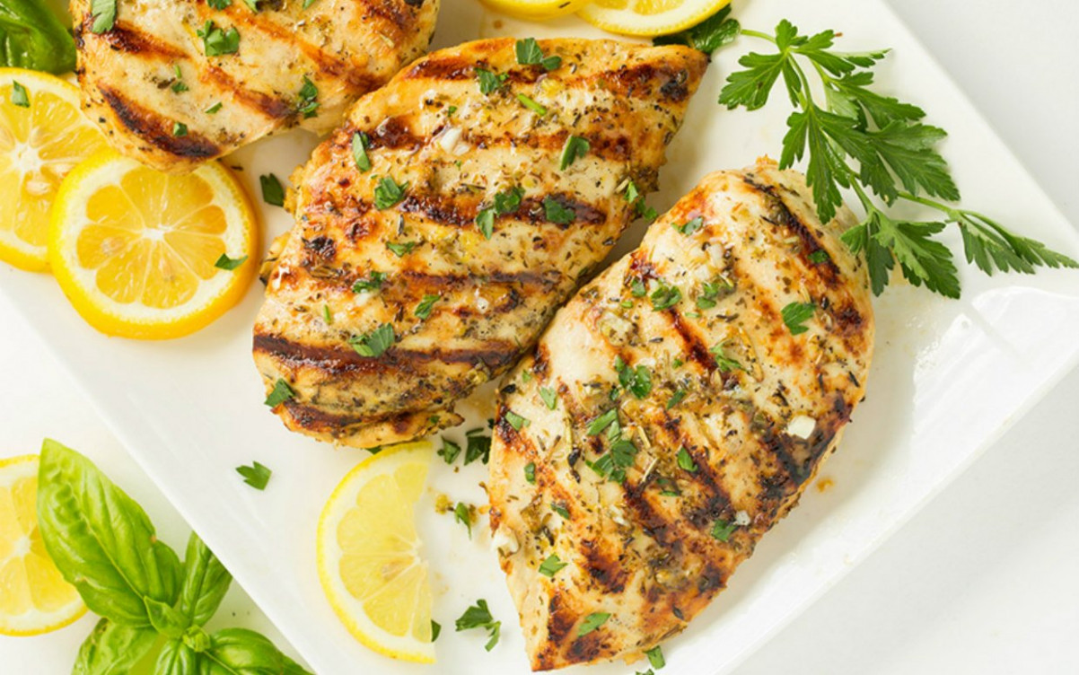 Barbecued Chicken On The Grill Recipe — Dishmaps - Recipes Grilled Chicken