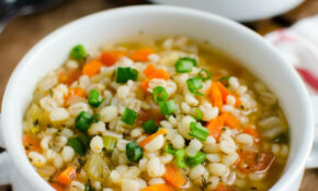 Barley Soup – Recipes Of Healthy Soups