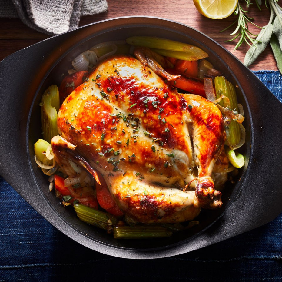 Basic Whole Roast Chicken - recipes for whole chicken