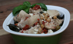 Basil Chicken With Feta Slow Cooker Recipe – A Year Of ..