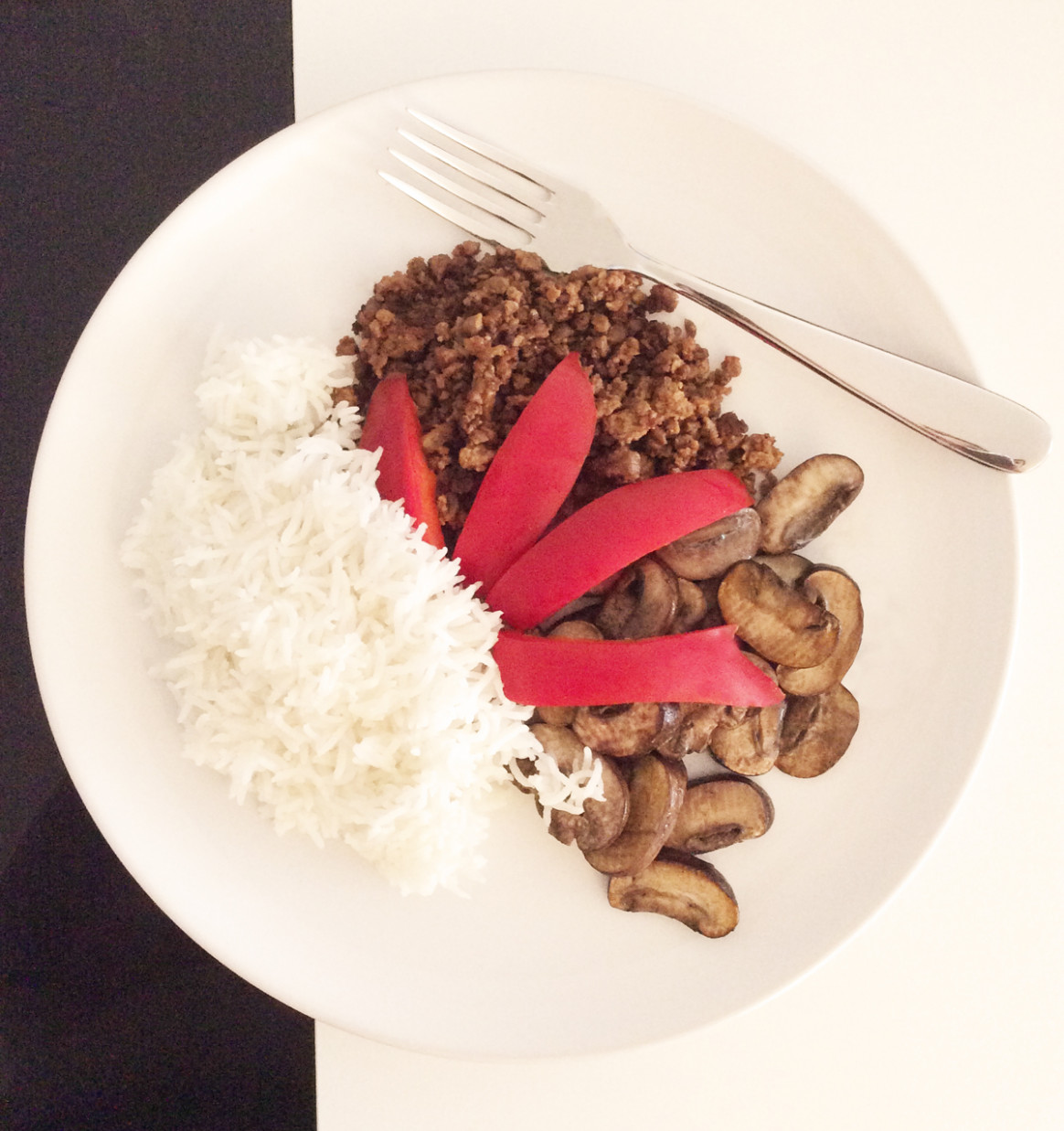 Basmati Rice With Vegan Mince And Champignons · Easy Vegan ..