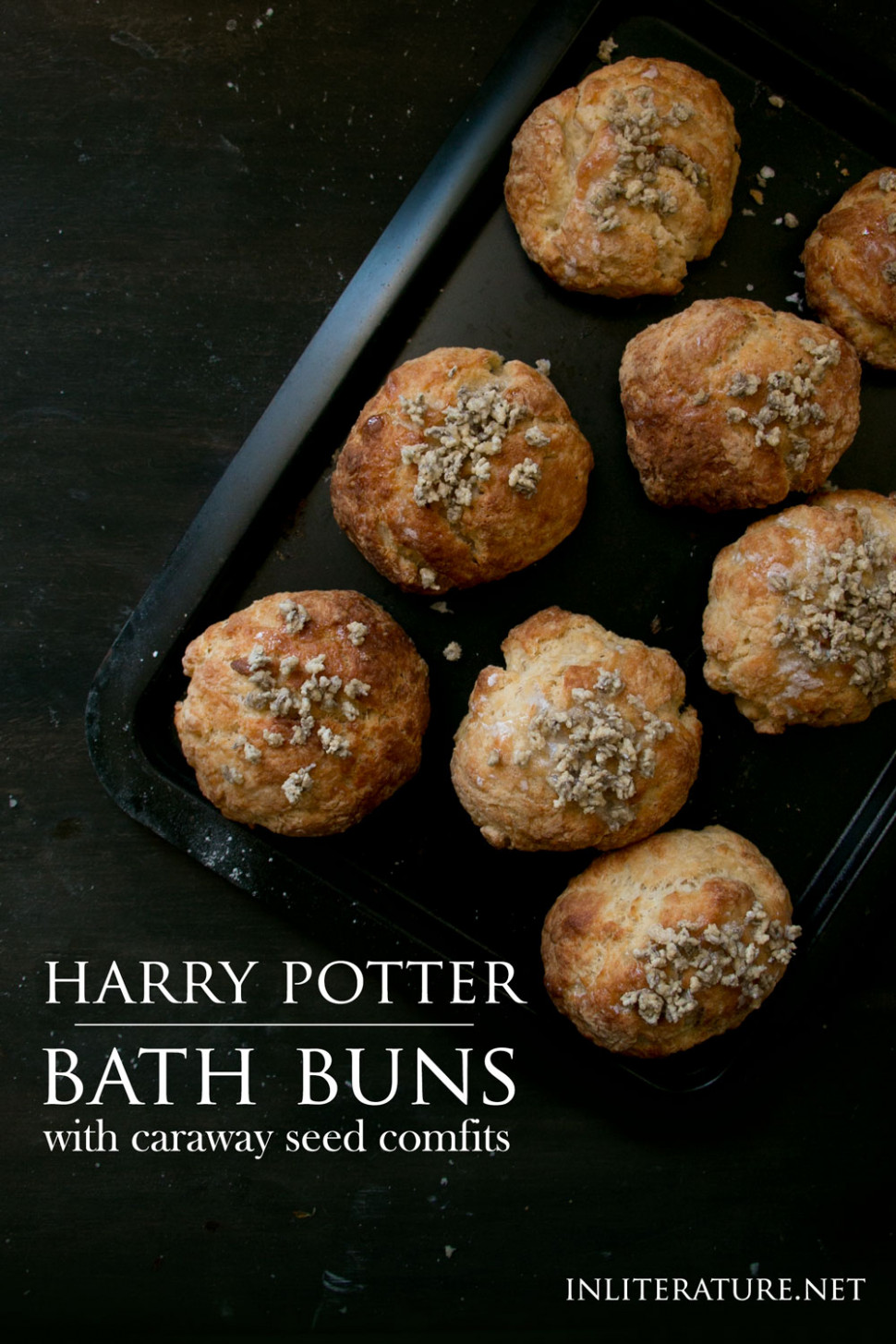 Bath Buns | Harry Potter | In Literature - Food Recipes English