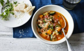 BBC Food – Recipes – Healthy Minestrone Soup – Tom Kerridge Healthy Recipes