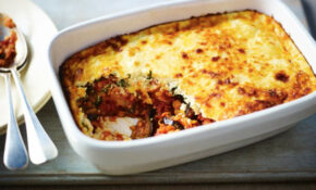 BBC Food – Recipes – Red Lentil And Aubergine Moussaka – Www