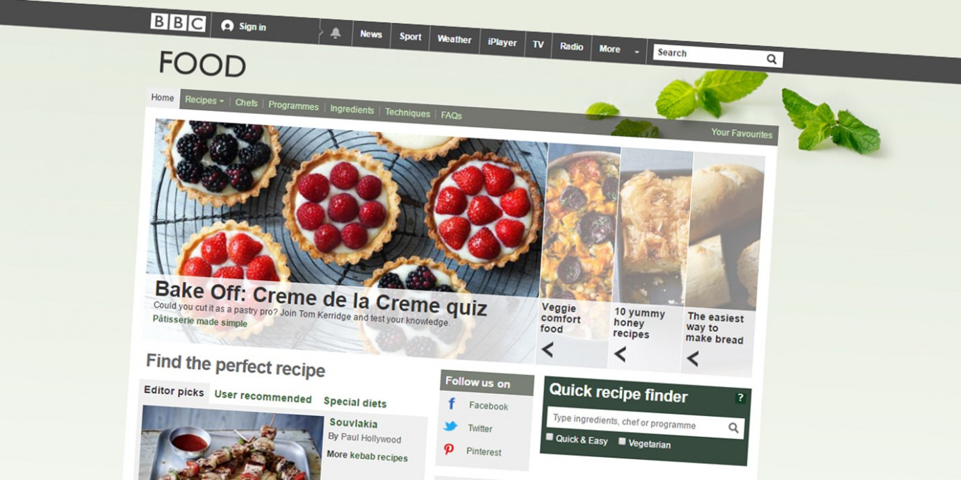 BBC Food to Archive 14,14 Recipes - Great British Chefs - www