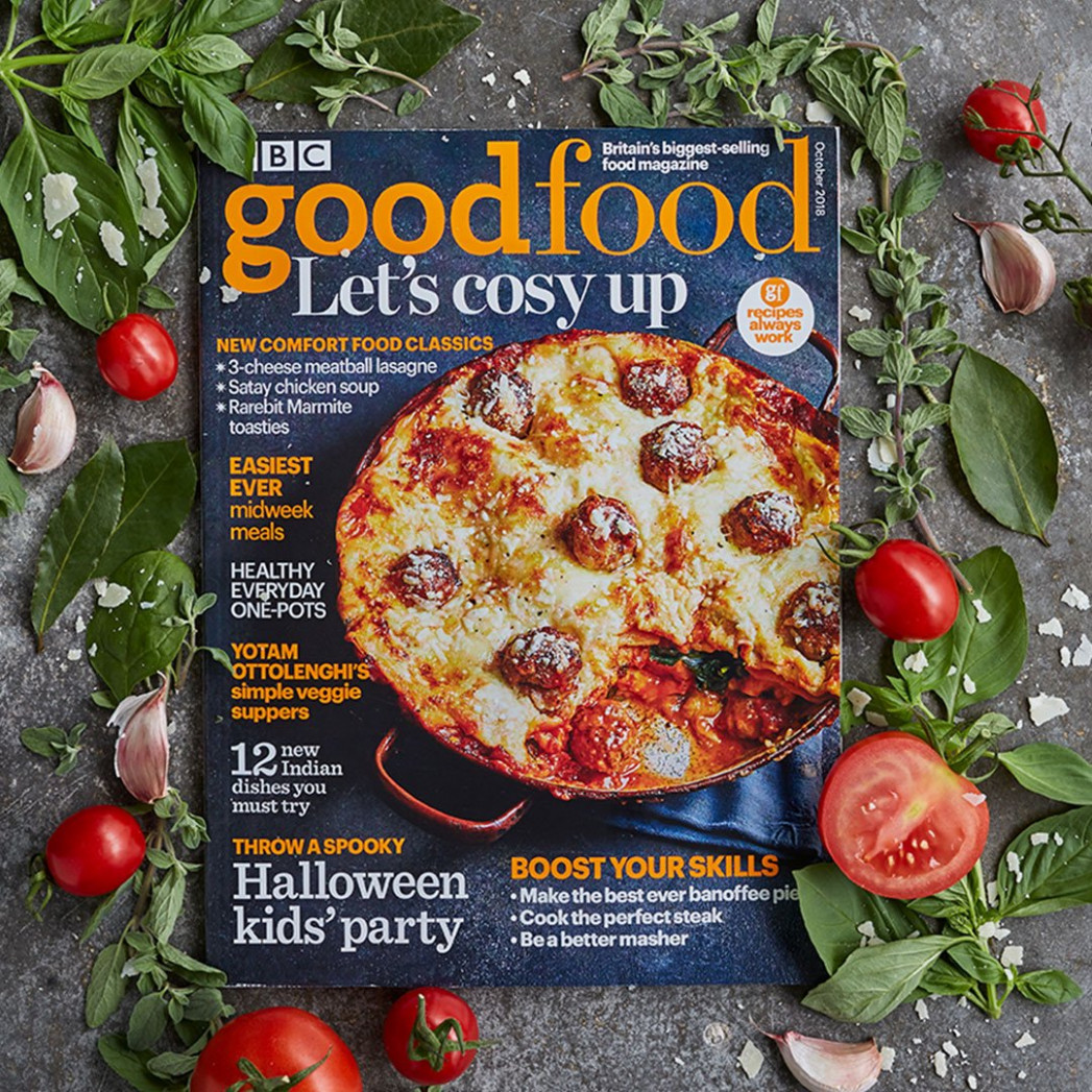 "BBC Good Food on Twitter: ""Our October magazine is here .."