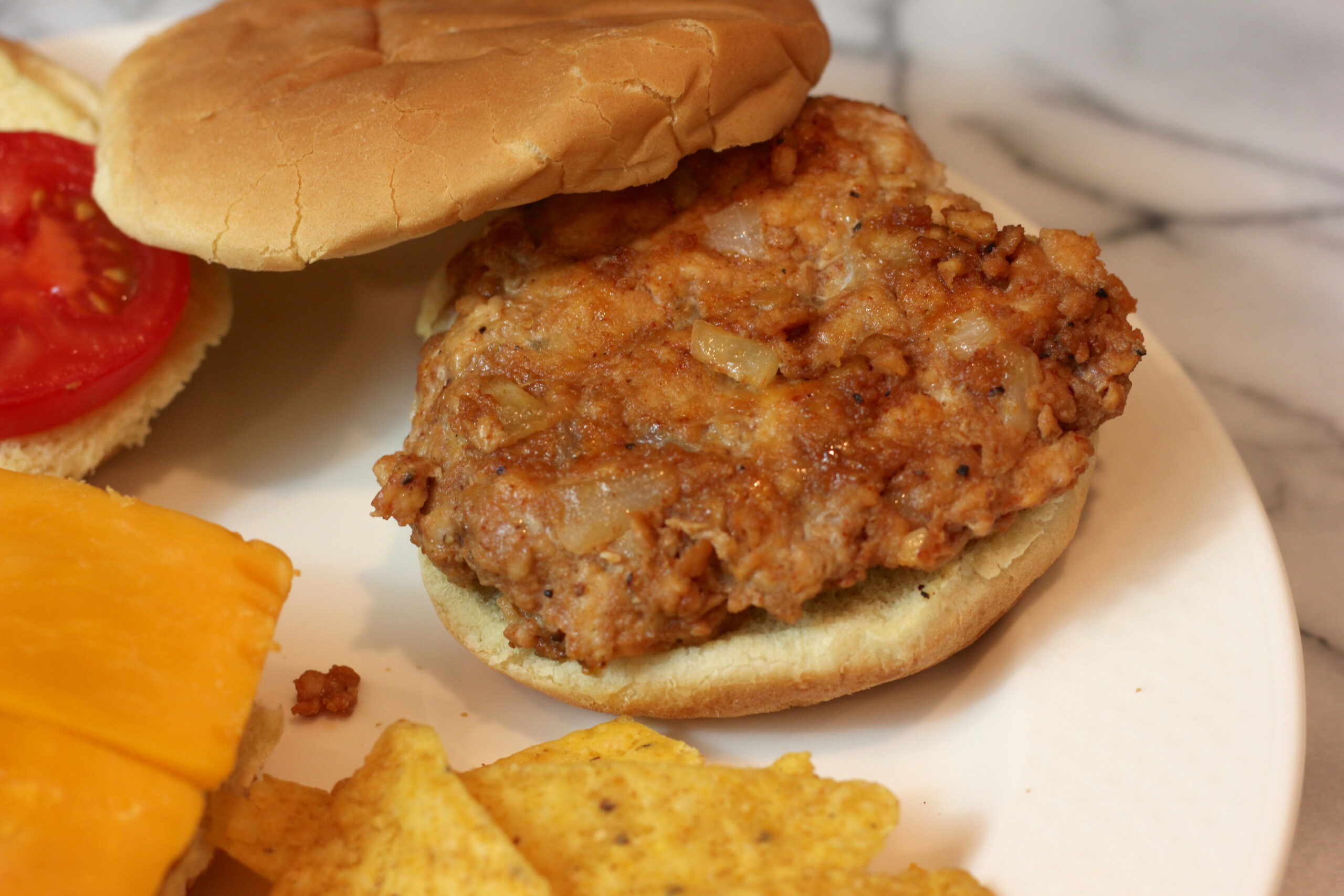 BBQ Chicken Burger Recipe - recipes bbq chicken