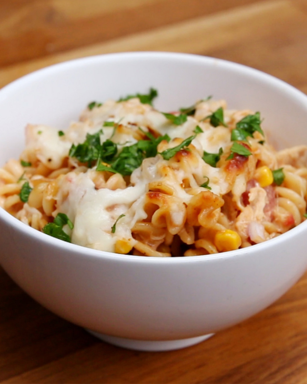 BBQ Chicken Pasta Bake Recipe by Tasty - pasta recipes chicken