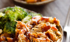 BBQ Chicken & Roasted Sweet Potato Bowls – Easy Meal Prep – Recipes Healthy Quick Dinner