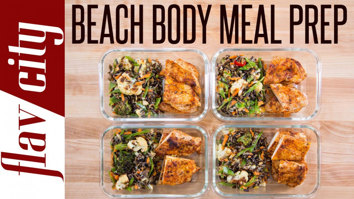 Beach Body Meal Prep - Tasty Weight Loss Recipes With Chicken Breasts - food recipes to lose weight