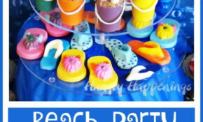 Beach Themed Party Ideas & Under the Sea Desserts