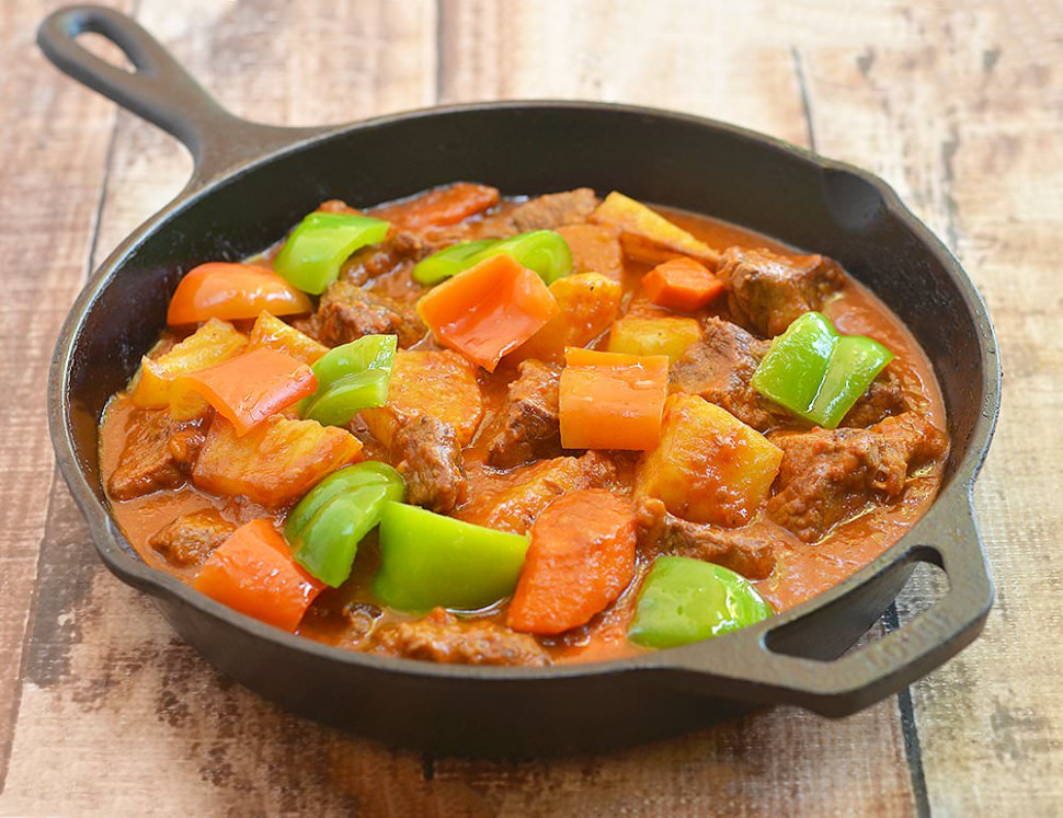 Beef Afritada - kawaling pinoy - chicken recipes kawaling pinoy