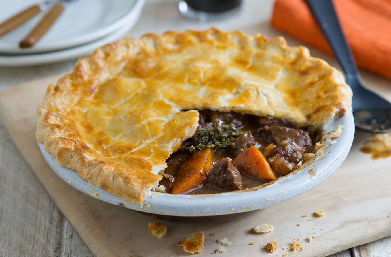 Beef and Guinness pie - recipes irish food
