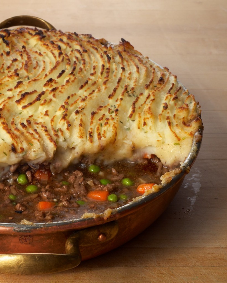 Beef And Lamb Shepherd's Pie With Guinness - Dinner Recipes Using Ground Beef