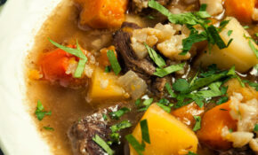 Beef And Winter Vegetable Soup | Paleo Leap – Paleo Recipes Vegetarian
