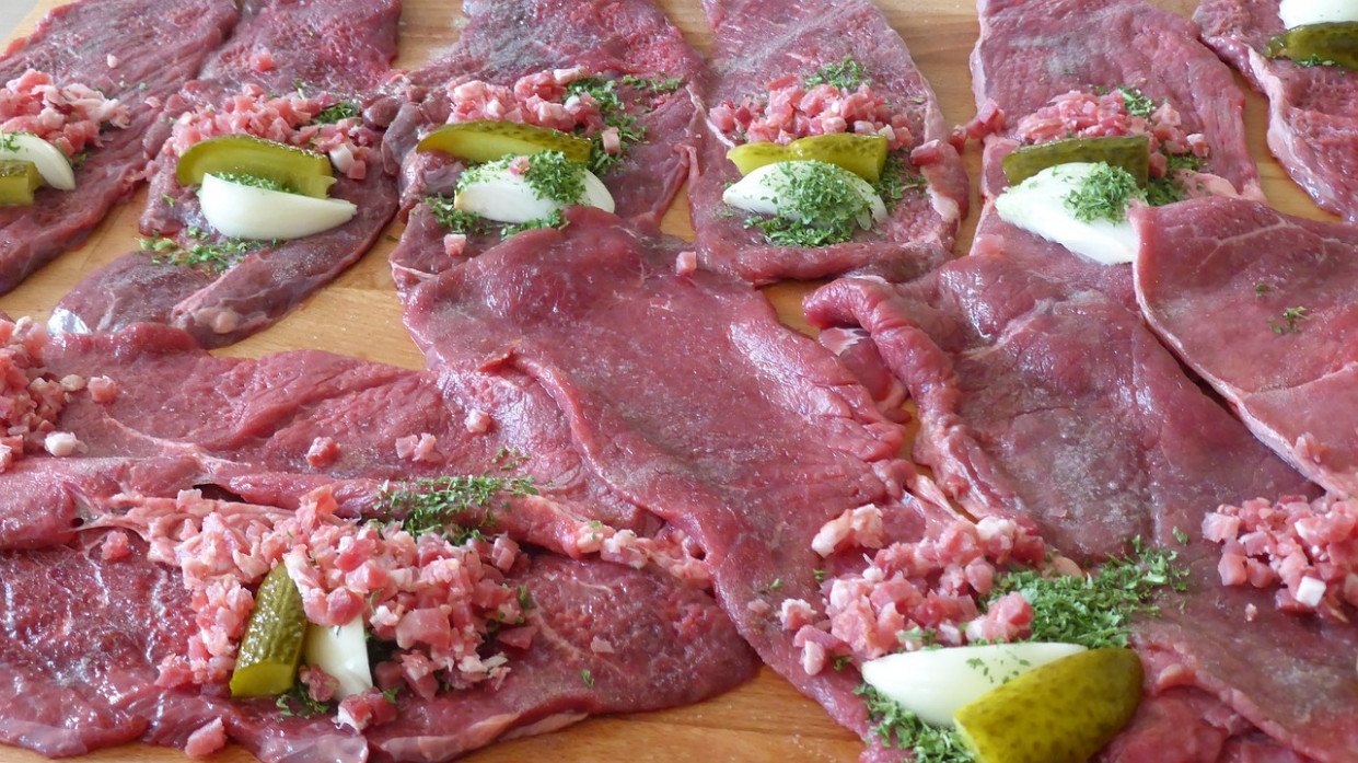 Beef Roulades, Cook, Meat, Recipe, Beef - food recipes beef