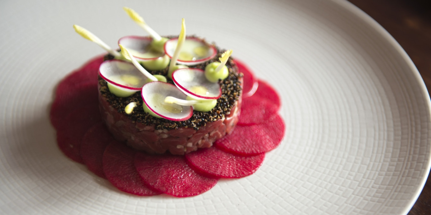 Beef Tartare Recipe With Pickled Radish And Wasabi - Great ..
