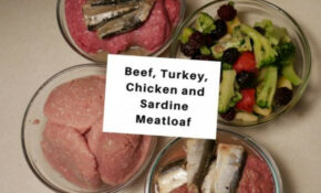 Beef, Turkey, Chicken And Sardine Meatloaf For Cats ..