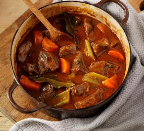 Beef & vegetable casserole recipe | BBC Good Food - www