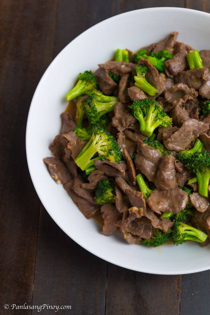Beef With Broccoli - Filipino Food Recipes With Pictures And Procedures