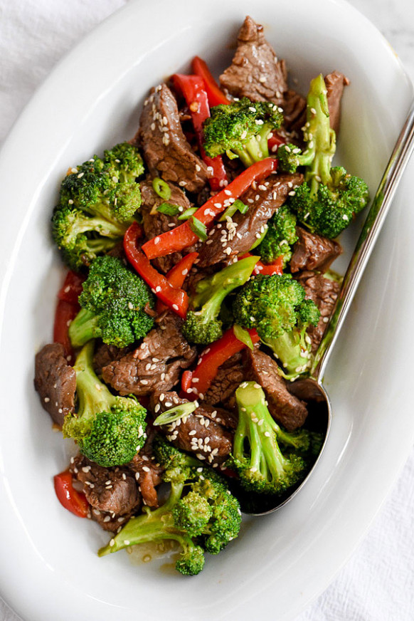 Beef With Broccoli Recipe | foodiecrush