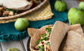 Beefy Jackfruit Tacos With Fajita Filling – Recipes By Food Fusion