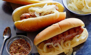 Beer Brats Recipe | Bobby Flay | Food Network – Food Recipes Using Beer