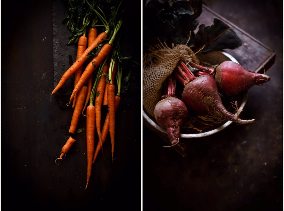 Beet_Carrot_Collage - recipes vegetarian gravy
