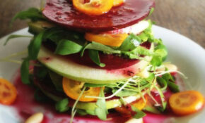 Beetroot Apple Mille Feuille This Raw Vegan Mille Feuille ..