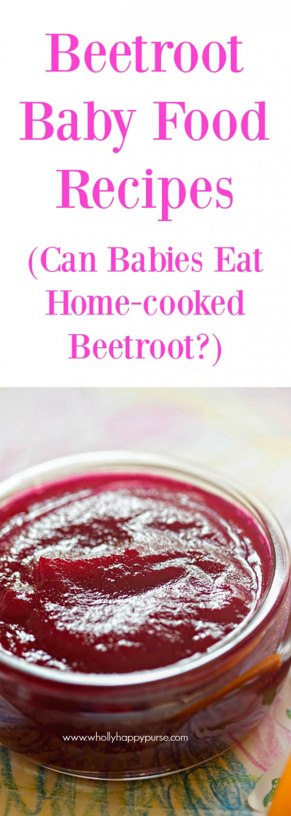 Beets Baby Food Recipes - WHP - baby food recipes 8 months