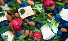 Berry, Brie & Almond Salad – Healthy Recipes Australia