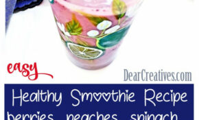 Berry Smoothie – Recipes For Healthy Smoothies