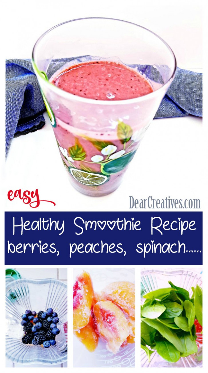 Berry Smoothie - recipes for healthy smoothies