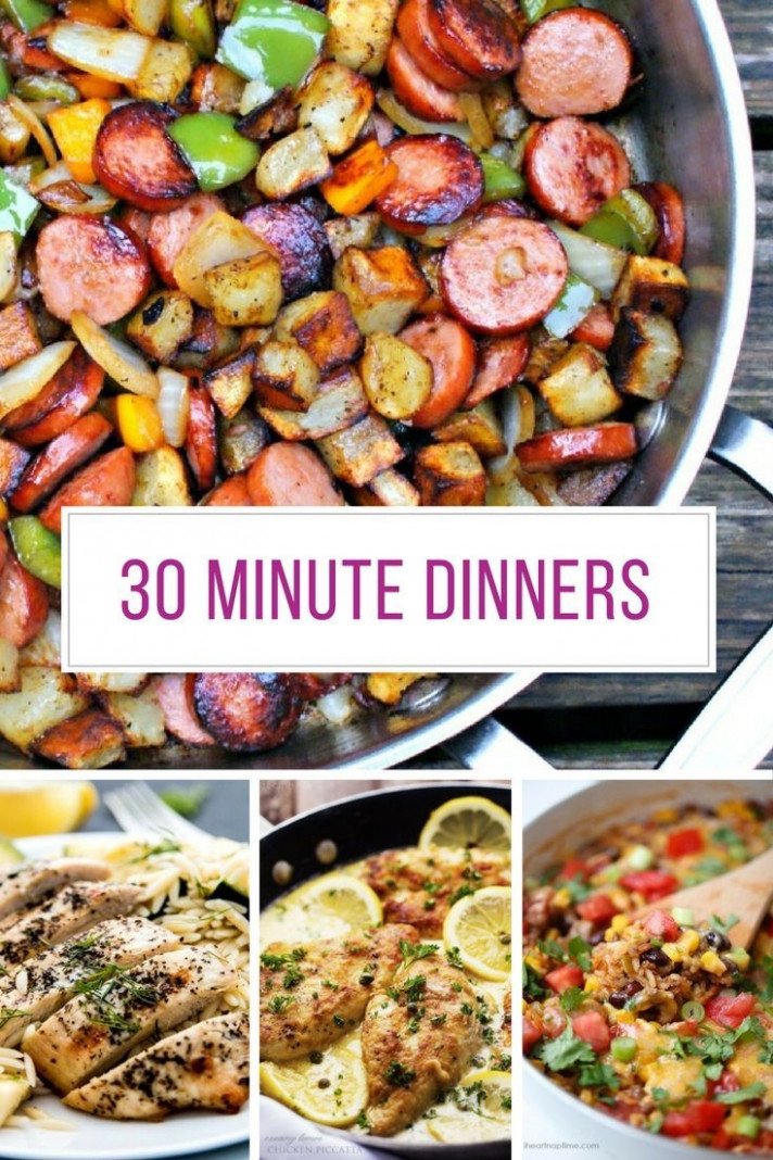 Best 14 Minute Dinner Recipes - Easy Midweek Meals! | 14 ..