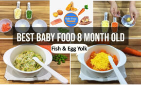 Best Baby Food 10 Month Old – Recipes With Fish And Egg Yolk ..